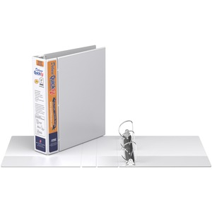 "Davis Group® Deluxe QuickFit® Heavy Duty View D-Ring Binder 2"" White"