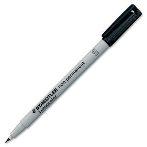 Staedtler® Lumocolor® Markers Washable Super-Fine Tip Black