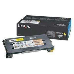 Toner Lexmark Jaune pour C500, X500502 - C500H2YG