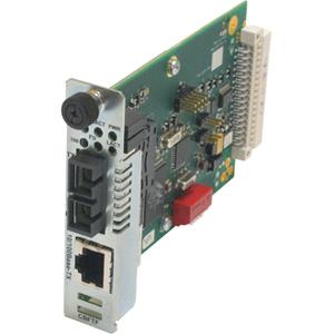 Transition Networks 10/100 Bridging 10/100Base-TX to 100Base-FX Media Converter