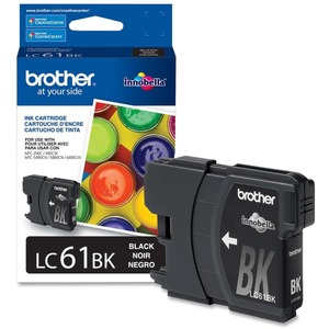 Brother® Inkjet Cartridge LC61BKS Black