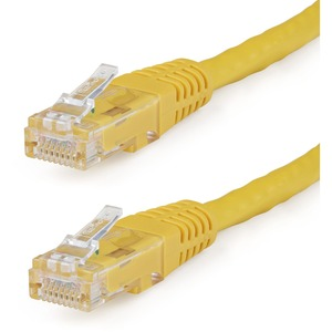 50ft Cat6 Yellow Molded RJ45 UTP Gigabit Cat.6 Patch Cord / Mfr. No.: C6patch50yl