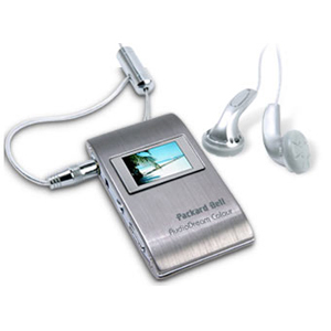 Packard Bell AudioDream Colour 512MB Flash MP3 Player