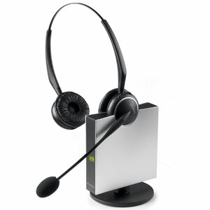 Gn9125 Nc Duo Wirelesss Headset 1.9ghz Dect6.0 300ft Nc Mic Duo / Mfr. No.: 9129-808-215