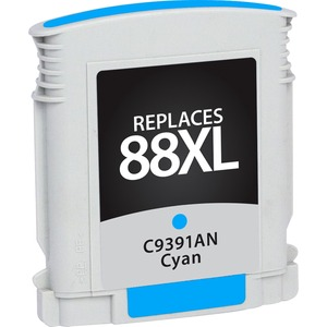 Cyan High Yield Officejet Ink Cartridge For Hp C9391an / Mfr. No.: V788cxl