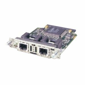 CISCO VWIC-1MFT-T1 Single-port RJ-48 Multiflex Trunk-T1 Voice/WAN Interface Card