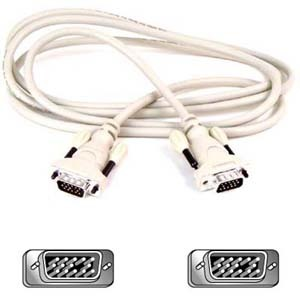 10ft VGA HDDb15m/HDDb15m Monitor Replacement Cable Sh / Mfr. No.: F2n028b10