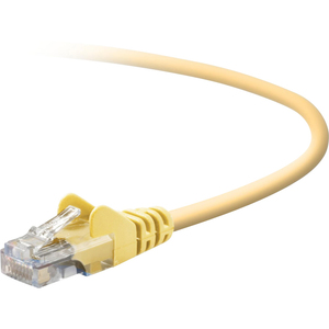 7ft Cat5e UTP Yellow Crossover Snagless RJ45 M/M Cable / Mfr. No.: A3x126-07-Ylw-S