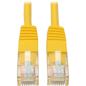 50ft Cat5e Cat5 350mhz Patch Cable RJ45 M/M Yellow / Mfr. No.: N002-050-Yw