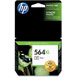 HP Inkjet Cartridge High Yield CB322WN #564XL Photo Black