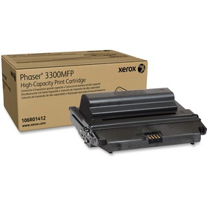 High Capacity Toner Cartridge For Phaser 3300mfp 8000-Page Yi / Mfr. No.: 106r01412