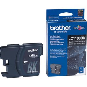 Encre Brother Noire  LC1100BK pour DCP-185C / 385C 387C / 585C/387C / 585CW / 6690CW/715W, MFC-250C / - LC1100BK