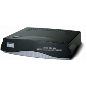 Cisco ATA 186 with 600 ohm impedance VoIP Gateway