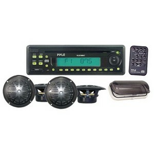 Pyle Marine Am/Fm/Cd Receiver 4x5.25in Speakers/Radio Cover B / Mfr. No.: PLCD7mrkt