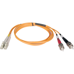 6m Duplex Multimode 62.5/125 Fiber Patch Cable Lc/St / Mfr. No.: N318-06m