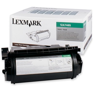 Lexmark® Laser Cartridge Extra High Yield Return Program 12A7465