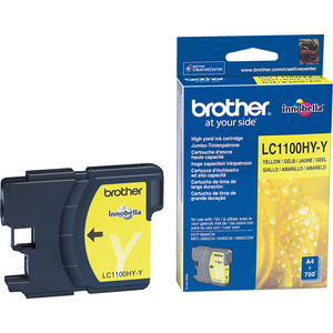 Encre Brother Jaune LC1100HYY - LC1100HYY