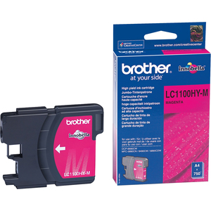 Encre Brother Magenta LC1100HYM Pour DCP-6690CW, MFC-5890CN/6490CW/6890CW - LC1100HYM