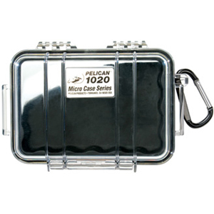 1020 Micro Case Black W/Clear Lid Liner 5.31x3.56x1.68 / Mfr. No.: 1020-025-100