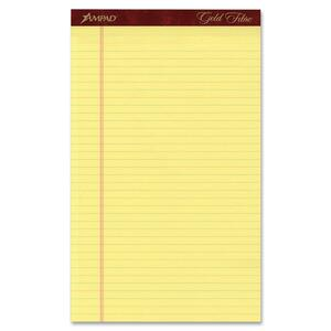 Gold Fibre Premium Legal Wide Ruled Writing Pad