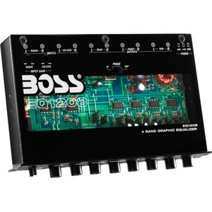 4 Band Preamp Equalizer / Mfr. No.: Eq1208