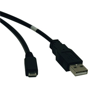 6ft USB-A Male To Micro-USB Male Cable Adapter / Mfr. No.: U050-006