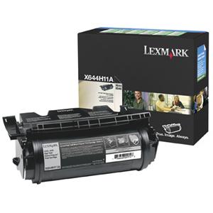 Toner Lexmark Noir pour X644e/X646dte/X642e - X644H11E