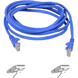 5in Cat6 Blue UTP Snagless RJ45 M/M Patch Cable / Mfr. No.: A3l980-05-Blu