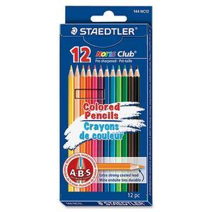 Staedtler® Noris Club® Coloured Pencils Assorted Colours 12/pkg