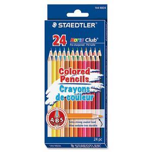 Staedtler® Noris Club® Coloured Pencils Assorted Colours 24/pkg