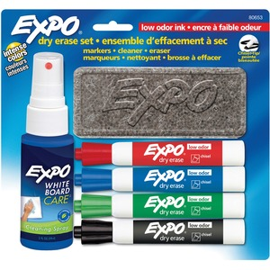 Expo® Low Odour Dry Erase Starter Set