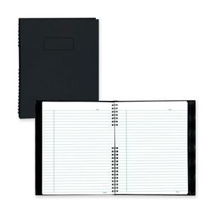 "Blueline® NotePro Notebook Ruled 9-1/4x7-1/4"" 360pgs Black"