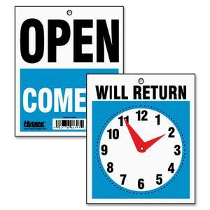 Identity Sign Will Return Clock 5x6