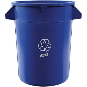 Rubbermaid® BRUTE® Recycling Container without Lid 121.1 L Blue