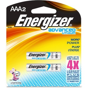 Energizer Lithium Aaa 2 Pack / Mfr. no.: EA92BP-2