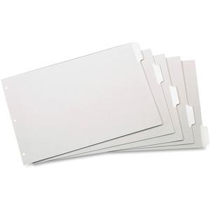 Cardinal® Write 'n Erase™ Dividers 5 Tabs