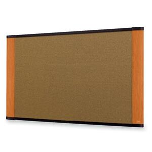 Cork Bulletin Board 48x36 Light Cherry Finish Frame / Mfr. no.: C4836LC