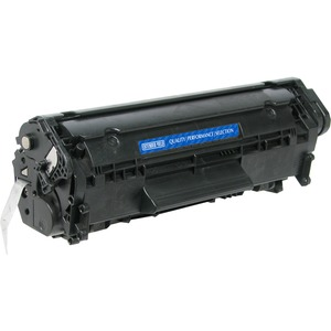 Black High Yield Toner Cartridge For Hp Laserjet Q2612 / Mfr. No.: V712xp