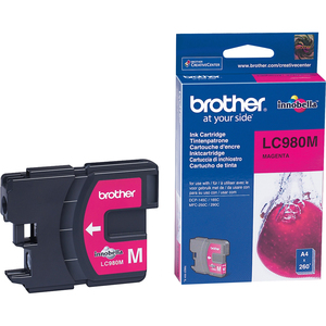 Encre Brother Magenta LC-980M - LC980M