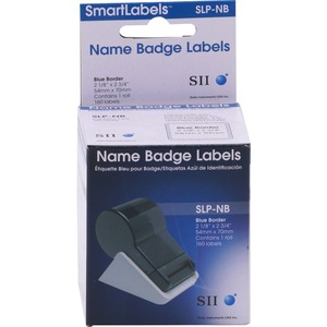 160 Labels 3-1/8 X 2-3/4 Slp-Nb Blue Name Badges / Mfr. no.: SLP-NB
