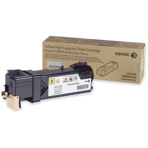 Yellow Toner Cartridge For Phaser 6128mfp / Mfr. No.: 106r01454