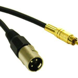 1.5ft Pro-Audio Xlr Male To Rca Male Cable / Mfr. no.: 40045