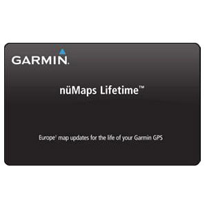 Garmin 010-11269-01 nüMaps Lifetime Europe Digital Map