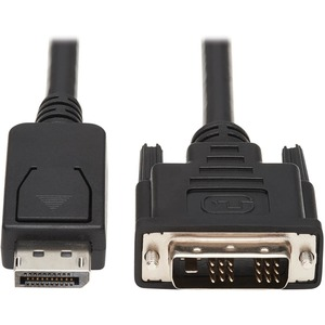 6ft Displayport-Male To DVI-D-Male Adapter Cable / Mfr. No.: P581-006