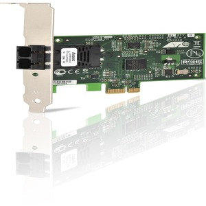 100mbps PCIe Scr Fast Eth Fiber Adapter Card Sc Cnctr / Mfr. No.: At-2712fx/Sc-901