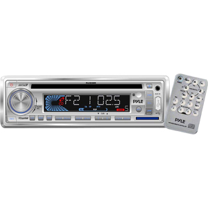Am/Fm-Mpx In-Dash Marine Cd/Mp3 Player/USB and SD Card Function / Mfr. No.: PLCD3mr