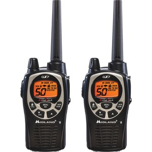 Midland Gmrs Two-Way Radios 50 Ch Sos Siren / Mfr. No.: Gxt1000vp4