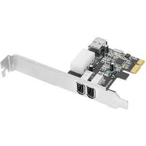 Dp Firewire PCIe Via 6pin PC/Mac To Firewire Desktop / Mfr. No.: Nn-E20022-S1