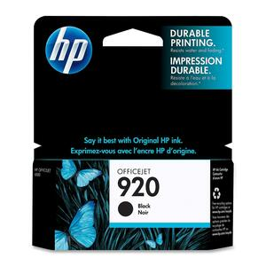 HP Inkjet Cartridge CD971AN #920 Black