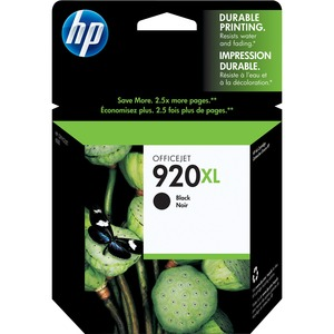HP Inkjet Cartridge High Yield CD975AN #920XL Black